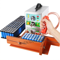 Литиевая батарея точечной сварки AC220V/110 В Малый миниатюрные портативные батарейный блок сварки Электрический паяльник карандаш сварочный
