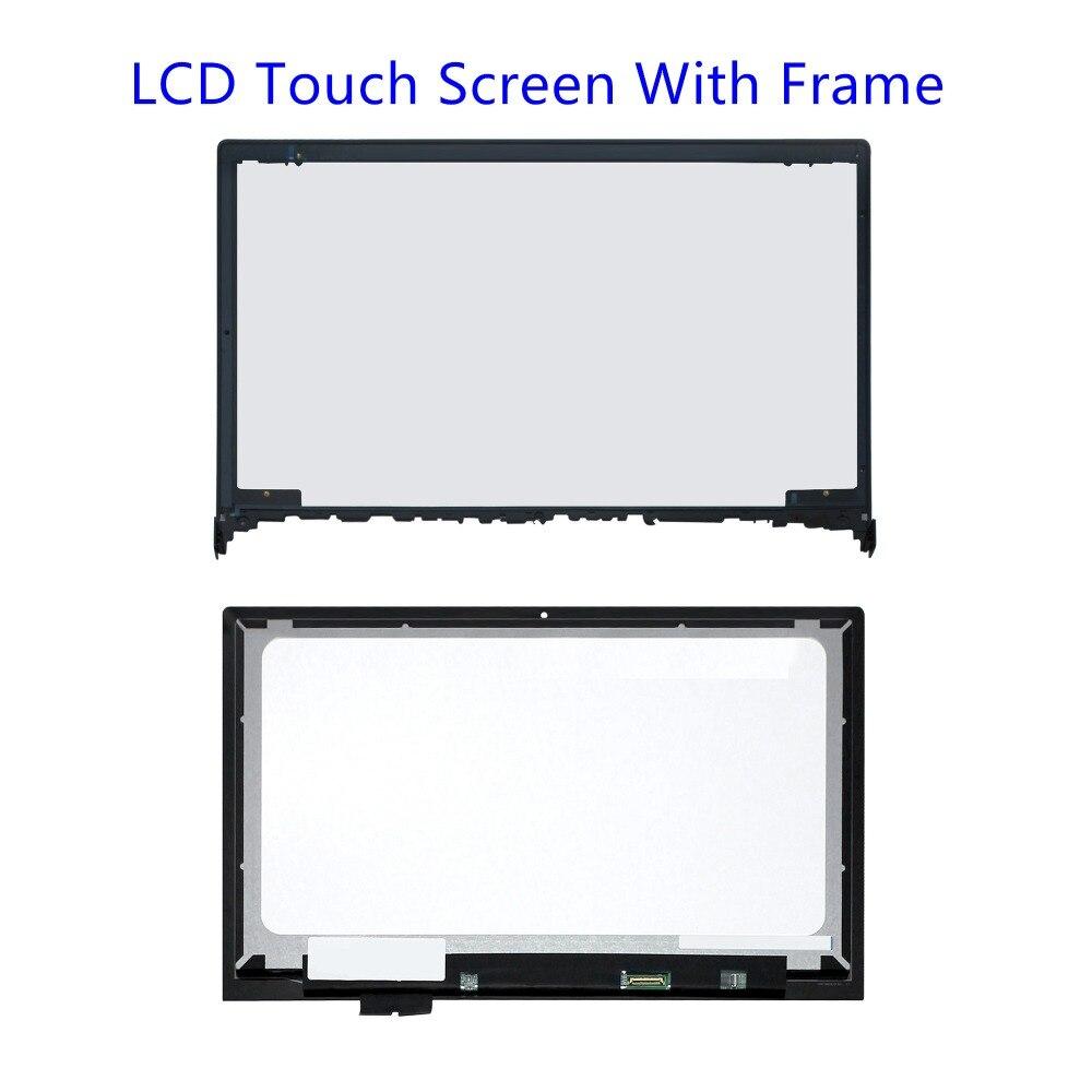 15,6 дюймовый Новый ЖК дисплей со светодиодным дисплеем в сборе + сенсорный экран дигитайзер с рамкой для Lenovo Ideapad Flex 2 15 Flex 2 15D 20377 80EF