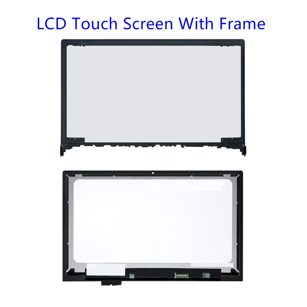 Laptop Accessories 100% True 15.6 New Lcd Led Display Assembly+touch Screen Digitizer With Frame For Lenovo Ideapad Flex 2-15 Flex 2 15d 20377 80ef Warm And Windproof Laptop Lcd Screen