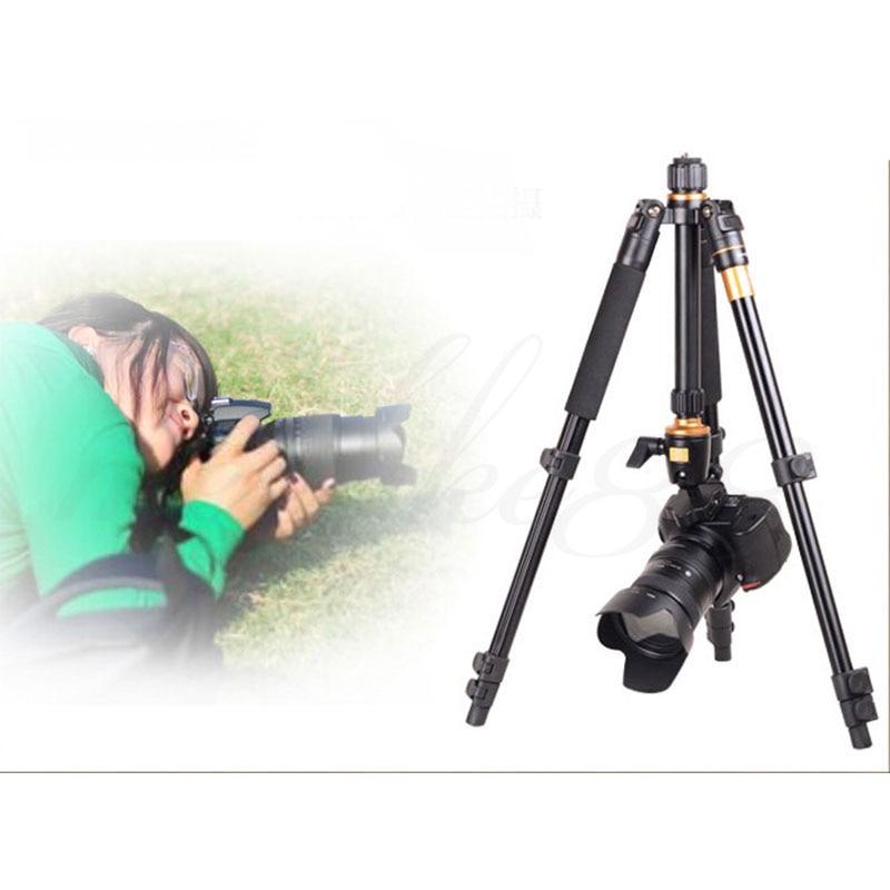 DHL Penghantaran Percuma Kualiti Tinggi Q-570 Portable Pro Tripod - Kamera dan foto - Foto 6