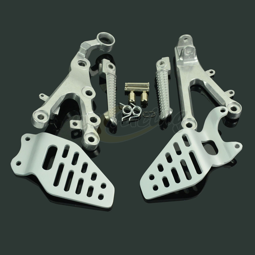 Motorcycle Footrests Front Foot Pegs Pedals Rest Footpegs For YAMAHA YZF R6 YZF-R6 2006-2011 2006 2007 2008 2009 2010 2011 for yamaha yzf r6 2006 2012 front wheel rim brake disc disk rotor motorcycle accessories 2007 2008 2009 2010 2011 yzf r6 black