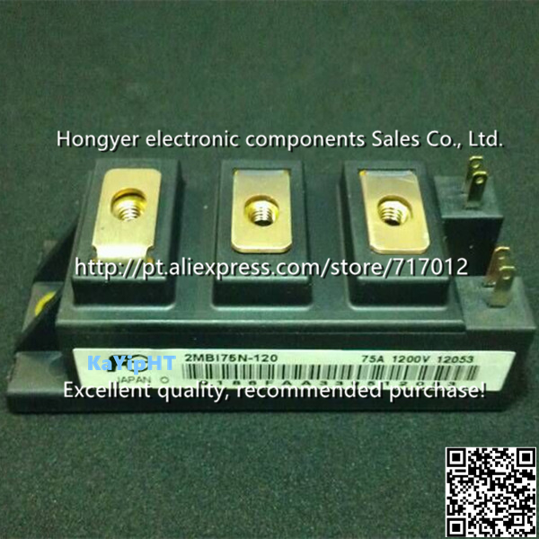 Free Shipping 2MBI75N-120 New IGBT 2unit  75A-1200V, quality assurance,Can directly buy or contact the seller cm75dy 24h new igbt power module 75a 1200v can directly buy or contact the seller free shipping