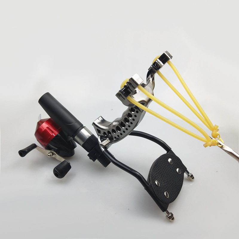 Poderoso estilingue pesca caça conjunto pro tiro