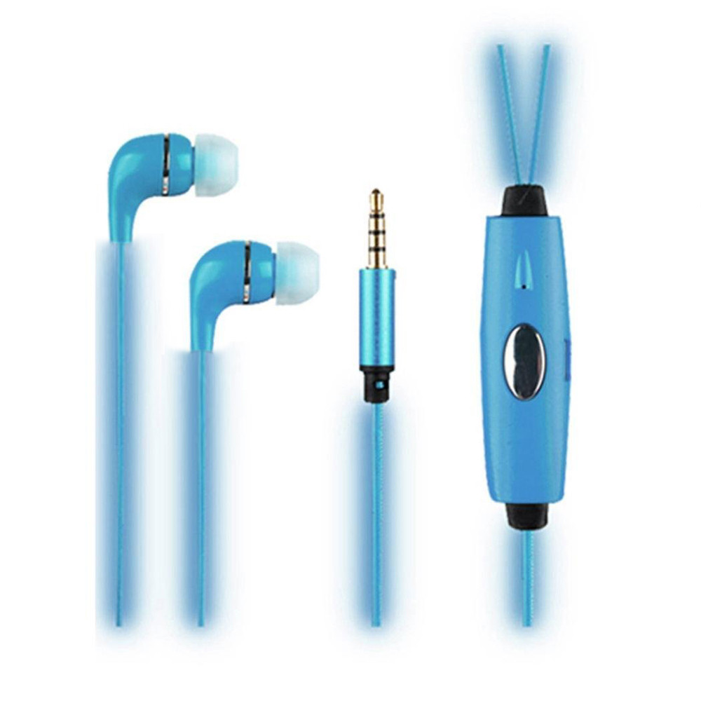 1M Earphone LED Luminous In ear Earphone Glow Stereo Low power LED For IPhone for Xiaomi Samsung for Cell phone