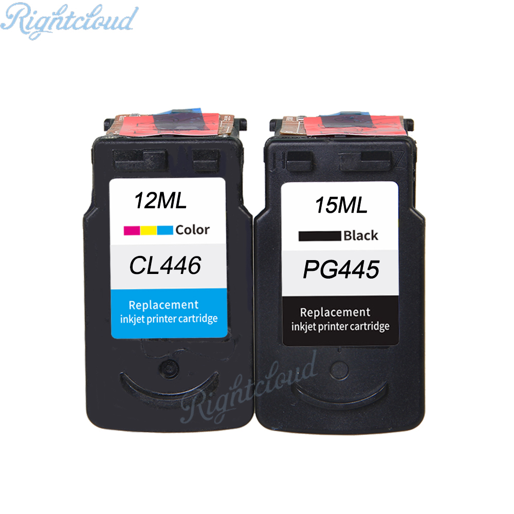 цена на Hot ink cartridge for Canon pg445 cl446 PG445XL CL446 XL Compatible for Canon PIXMA MX494 MG 2440 2540 2940 MX494 IP2840 Printe