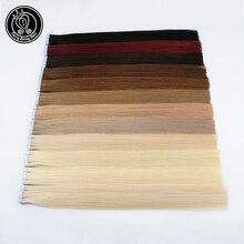 Сказочные волосы remy на ленте, человеческие волосы для наращивания, 18 дюймов, натуральные волосы с неповрежденной кутикулой, на Клейкой Ленте, искусственная кожа, пряди для наращивания, невидимые, 40 г