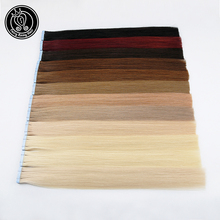 Fairy Remy Hair Tape In Human Extensions 18 100% Real On Adhesives PU Skin Weft Extension Invisible 40g