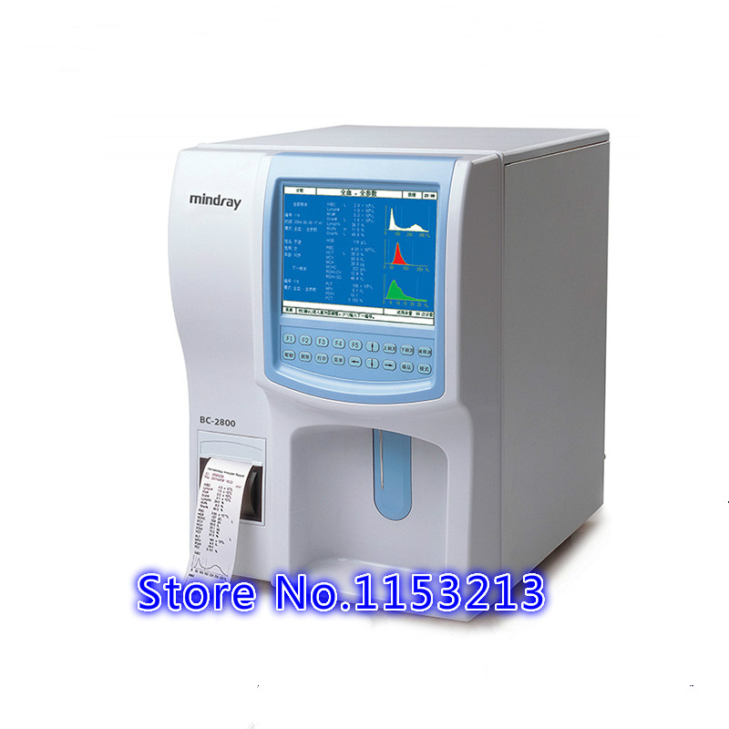 Blood Cell Analyzer Mindray BC-2800 hematocrit analyze