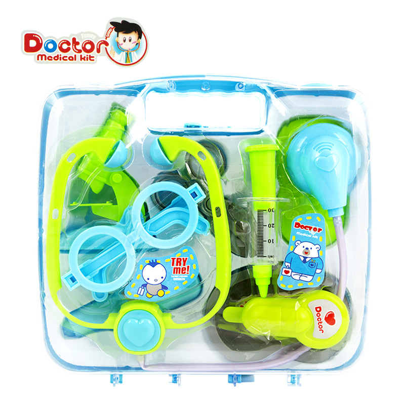 New Baby Kids Doctor Play sets Simulation Medicine Box Stethoscope Injections Children gifts