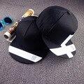 2016 nova Black white cruz Snapback Strapback Casquette tampão do camionista boné de beisebol para mulheres dos homens Osso plana Chapéu skate