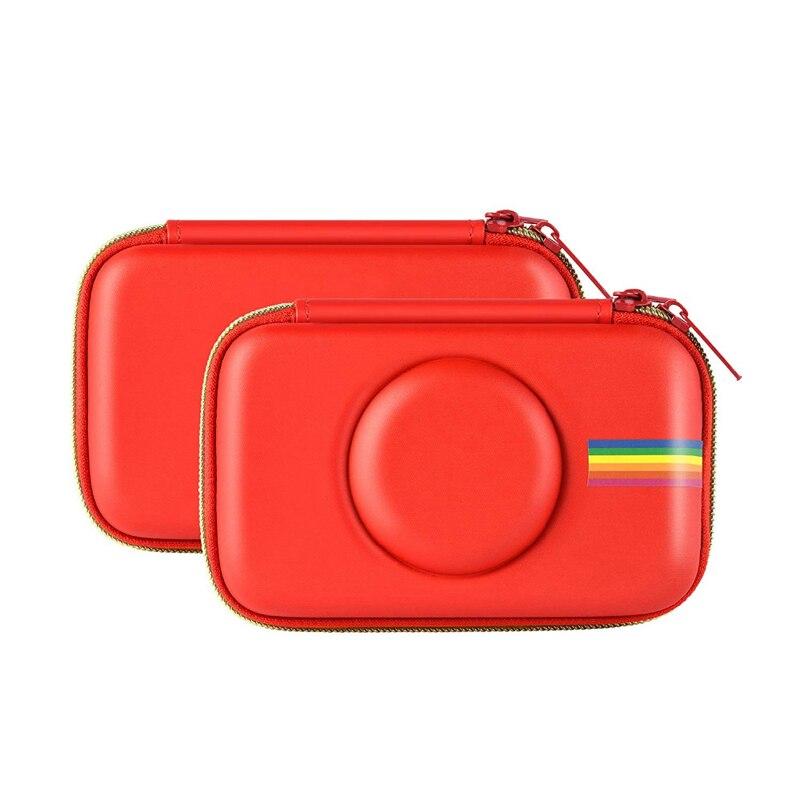 Pu Fall Für Polaroid Snap & Snap Touch Instant Print Digital Kamera (rot) Nur Fall