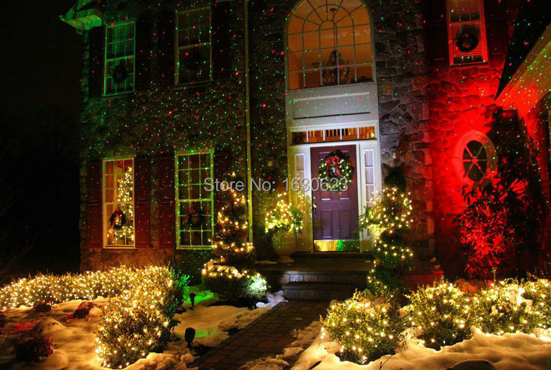 single red firefly christmas laser projector lighting landscape ip65 christmas laser projector outdoor laser projector ip65 in holiday lighting from - Firefly Christmas Lights