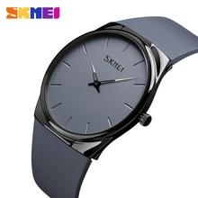 SKMEI Men Watches Thin Luxury Brand Quartz Wristwatches Casual Women Watch Simple Design 30M Waterproof Watch Relogio Masculino цены