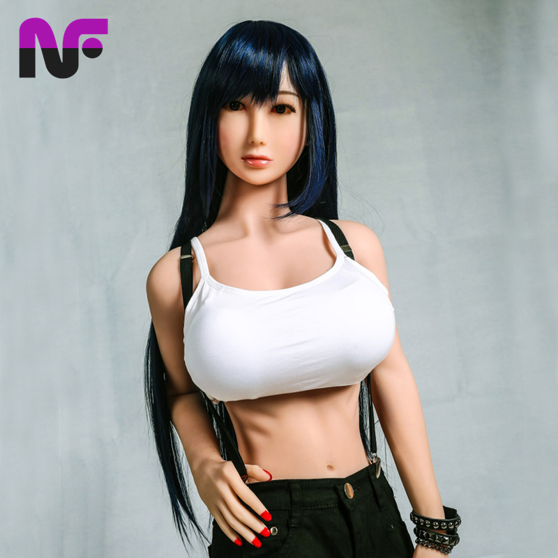 165Cm Life Size Real Silicone Sex Love Dolls Big Ass D Cup Breast Oral Anal Sex Toys -7807