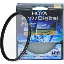 HOYA PRO1D цифровой УФ-фильтр 49 52 55 58 62 67 72 77 82 мм низкий профиль рамы Pro 1 DMC УФ (O) Multicoat для Камера объектива