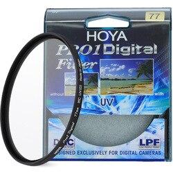 Цифровой УФ-фильтр HOYA PRO1D 49 52 55 58 62 67 72 77 82 мм, низкопрофильная рамка Pro 1 DMC UV(O), многослойное покрытие для объектива камеры