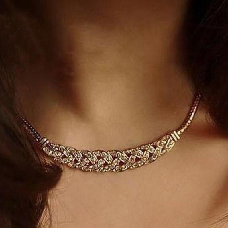 Latest Explosion Models Elegant Imitation Gem Necklace ...