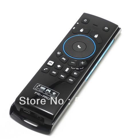 Prix pour MeLE F10 Pro 2.4 GHz Clavier Sans Fil Air Mouse Télécommande écouteur MIC Accessoires de Jeux pour Pc Android Tablet PC TV boîte