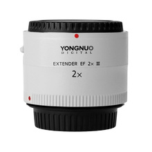 Yongnuo YN 2.0X III PRO 2x Telekonverter Extender Auto Montieren Kameraobjektiv für Canon EOS EF Objektiv Freies objektiv tasche