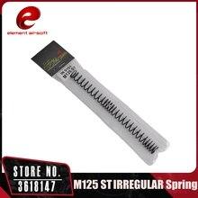 عنصر الادسنس التكتيكية النظامية gearbox M125 الربيع ae 2 3 الصيد اكسسوارات IN0101