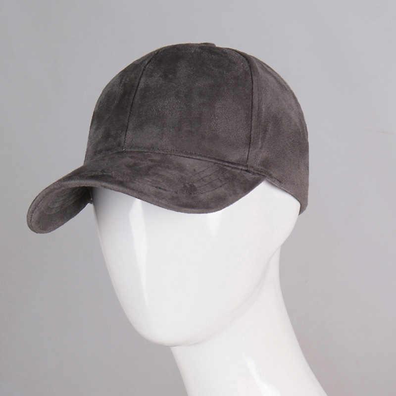41e128e8785 ... Simple Solid Color Baseball Cap Women Men Macarons Suede Hat Female  Candy Fashion Caps Man Hip ...