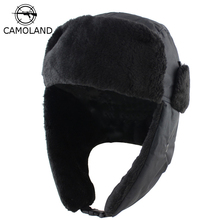 2018 Men Women Winter Hat with Ears Earflap Bomber