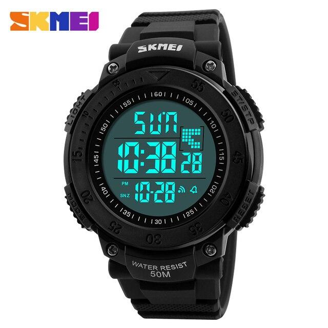 11048c01d7c Exército SKMEI digital-relógio led relógios relojes homens digital sports  relógio de pulso militar relógios