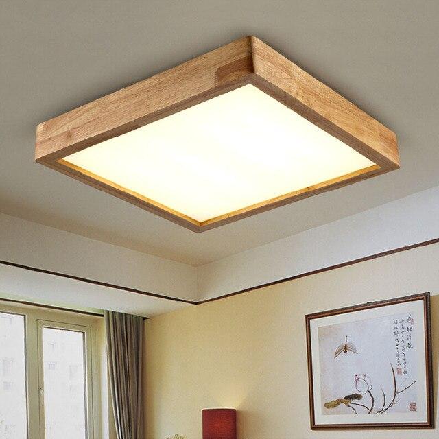Hervorragend Neue Kreative EICHE Moderne Led Deckenleuchten Wohnzimmer Schlafzimmer  Acryl Decke Geführte Lampen Restaurant AC90