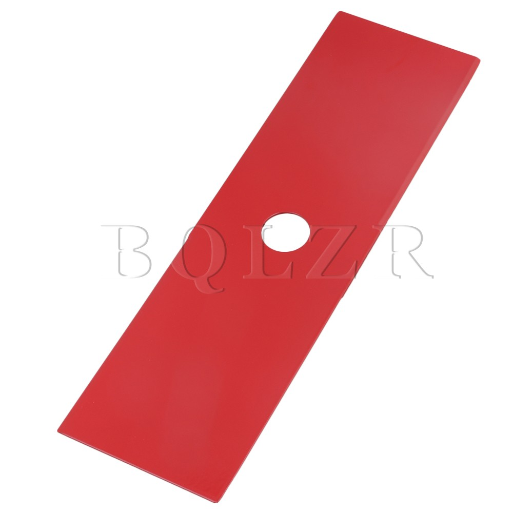Red 12 inch 2 Teeth Strimmer Brush Cutting Blade Lawn Mower Cutter Parts BQLZR