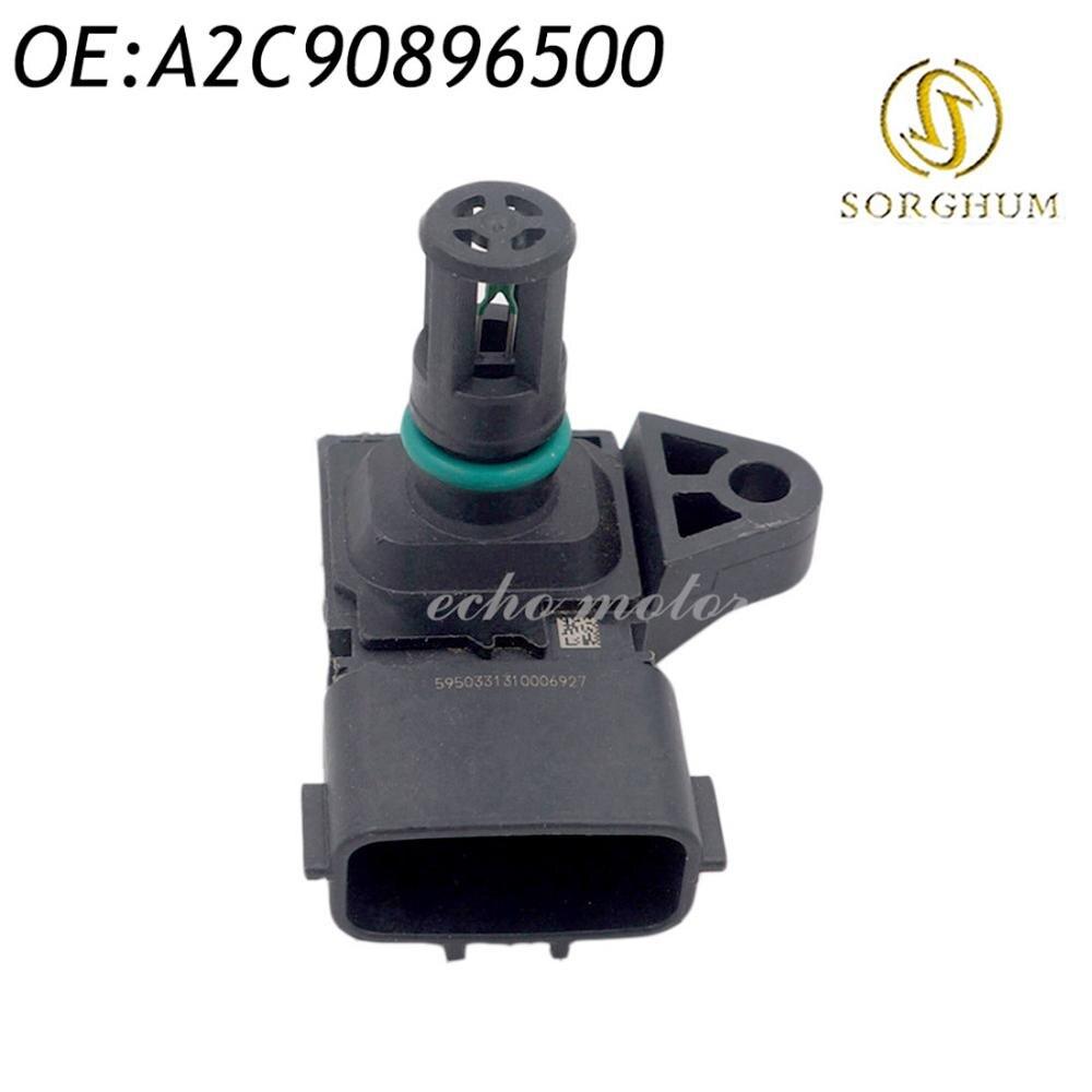 Nouveau capteur de carte de pression absolue du collecteur d'admission A2C90896500 4 broches de haute qualité
