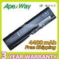 Apexway bateria do portátil de 6 células para hp pavilion dv2000 dv6000 417066-001 ex940aa ex941aa hstnn-lb31 ev088aa ev089aa hstnn-db32