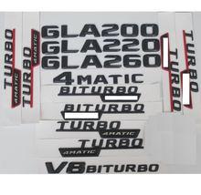 3d матовые черные буквы багажника эмблемы значки наклейки для