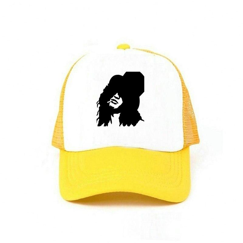 black trucker hat YY44936