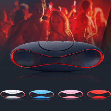 Mini Bluetooth Speaker Portable Wireless Speaker Sound Sistem 3D Musik Stereo Surround Tf Usb Super Bass Kolom Sistem Akustik(China)