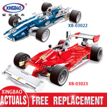 XINGBAO Technic Dream Car Series The Racing Car Set Building Blocks Bricks Technic Car Model Toys for Children(China)