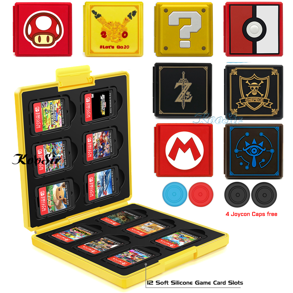 Nintend Switch Carrying Case Portable Protector Shell Box Nintendoswitch Game Cards Storage Hard Cover for Nintendo Switch GamesNintend Switch Carrying Case Portable Protector Shell Box Nintendoswitch Game Cards Storage Hard Cover for Nintendo Switch Games
