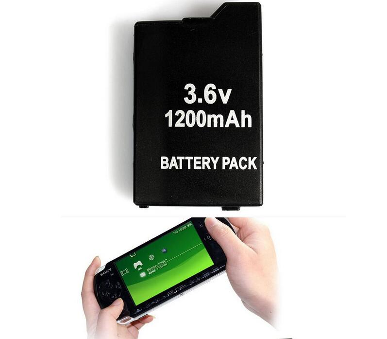Game accessories for One PSP Battery + One Set of Pet Screen Protector For All SONY PSP-2000,3000