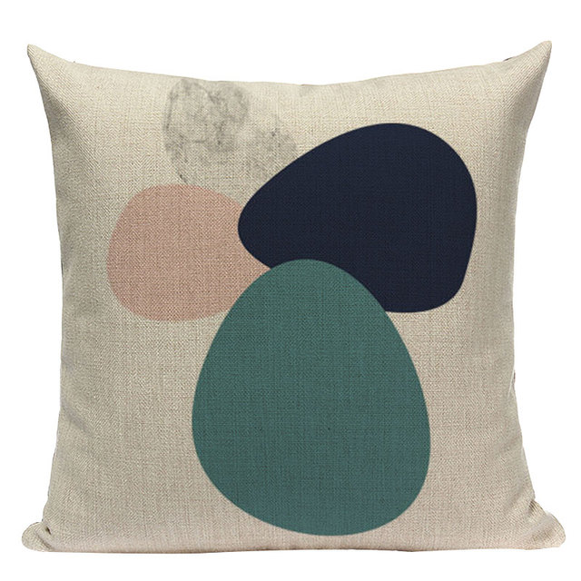 Nordic Pop Geometric Pillowcase Size: L313 Color: L313-5