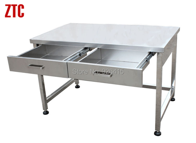 high quality stainless steel workbench with drawersschool laboratory work tablescience lab utility - Stainless Steel Work Bench