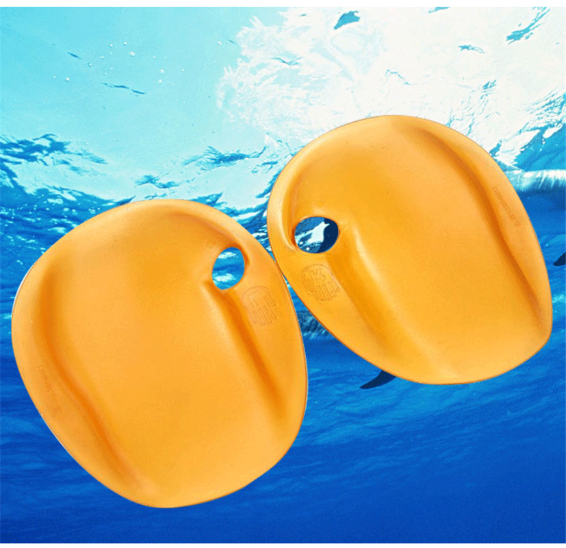 1 Pair Adult Kids Swimming Webbed Diving Gloves Training Swimming Paddle Fins Utility Paired Swim Glove Release Hand Strength