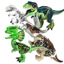 Single Sale Dllophoaurus Pteranodon D-REX Tyrannosaurs Rex Dinosaurs Brick Building Blocks Toys For Children Gifts свитшот only