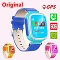 Q80 Niños GPS Tracker reloj para Chica Estudiante Muchacho Niño Reloj inteligente Smartwatch Llamada SOS de Alarma Dispositivo de Localización para IOS Android