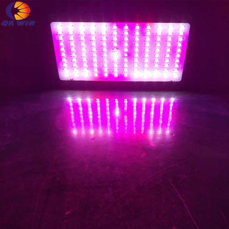 Купить с кэшбэком Qkwin 1200W Led grow light 120x10W high power double chip led hydroponics lighting system full spectrum