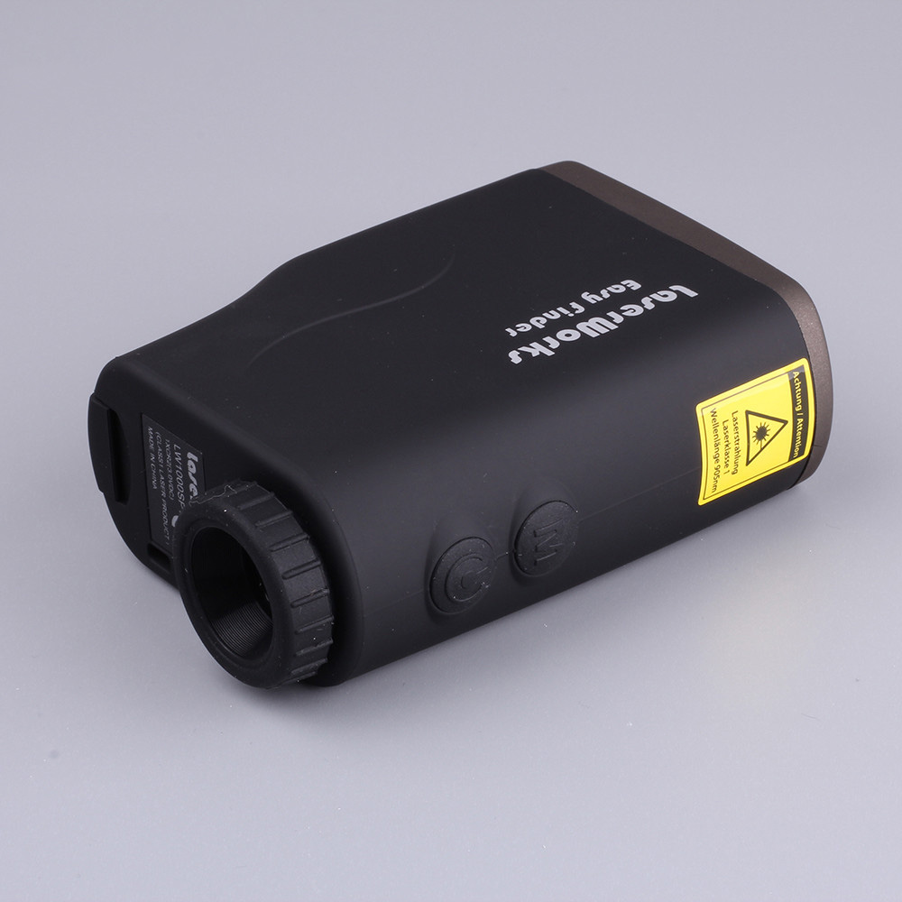 Hunting Tactical Golf Distance Meter Laser Range Finder Speed Tester Monocular 6x21 1000m Laser font b