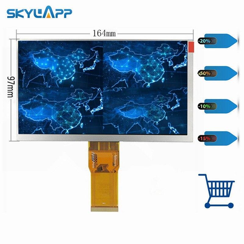 Skylarpu 7 cal ekran LCD do Digma optima 7.4 3g TT7024MG LCD panel wyświetlacza dla Matrix 163*97mm 50pin (bez dotyku) w Ekrany LCD i panele do tabletów od Komputer i biuro na title=