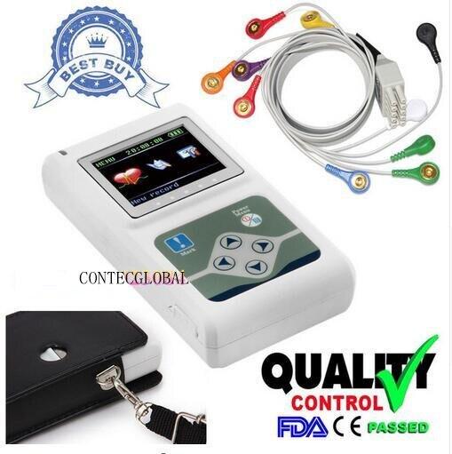 Contec TLC5000 À main Holter Enregistreur de Surveillance Système CE Certifié PAR LA FDA