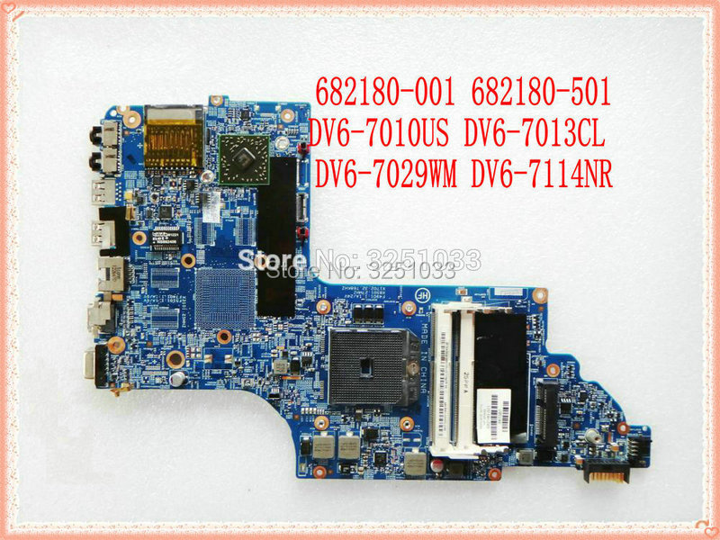 682180-001 682180-501 682180-601 Motherboard FOR HP PAVILION DV6-7010US DV6-7013CL DV6-7029WM DV6-7114NR Laptop 100% Test Ok