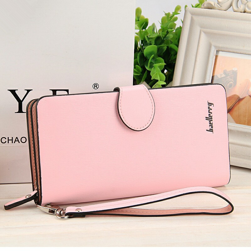 2017 Luxury Brand Women Wallets Leather Long Coin Purses Female Card Holder Phone Zipper Pocket Money Bags Ladies Clutch Wallets