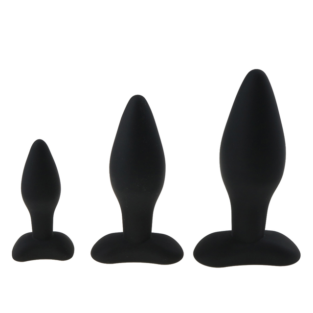 3 Size Anal Plug Silicone Butt Plug Large Huge Anal Bead Sex Toys for Women Anal Plug Unisex Erotic Toys Sex Products for Men