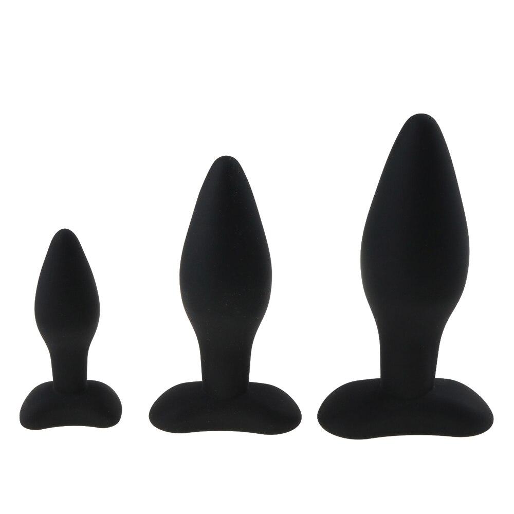 3 größe Anal Stecker Silikon Butt Plug Große Riesige Anal Wulst Sexspielzeug für Frauen Anal Stecker Unisex Erotische Spielzeug sex Produkte für Männer